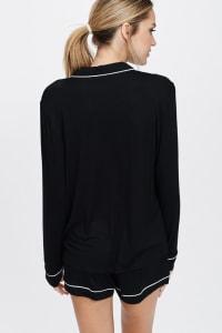 Cozy Nightwear Jacket - Back