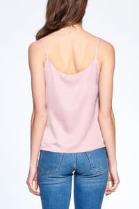 Essential Tank Top - Lilac - Back