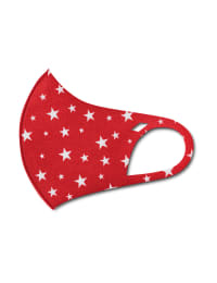 Star Anti-Bacterial Fashion Face Mask - Back