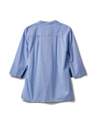 Blue Tile Voile Pintuck Popover - Blue Tile - Back