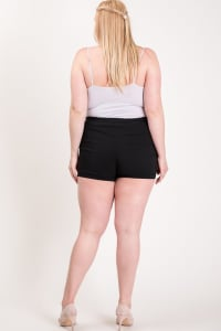 Hot Shorts For Hot Summer Days - Black - Back