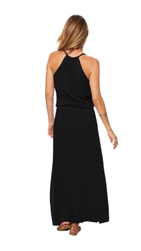 Sunstar Dress - Black - Back