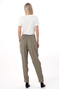 Aquerella Relaxed Fit With Pockets Pants - Back