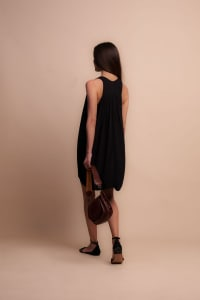 Nicky Dress - Black - Back