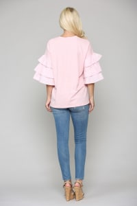 Camryn Cotton Top - Back