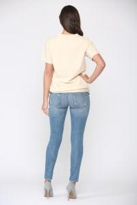 Krystal Knit Top - Back