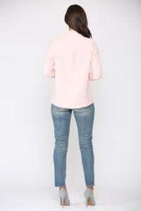 Gretta Cotton Gauze Shirt - Back