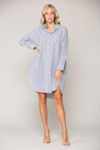Wanda Shirt Dress - Back