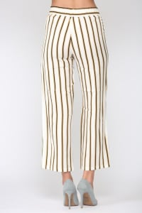 Waneeta Stripe Pant - Back