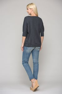 Gaia Cotton Top - Back