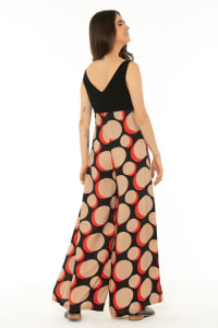 Jumpsuit Galaxy Red - Back
