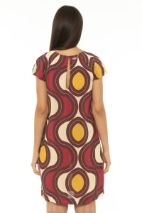 Short Dress Star Wine - Star-Wine - Back