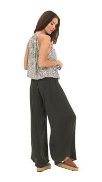 Maile Pants - Charcoal - Back