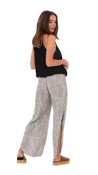 Star Pants - Freckle-Charcoal - Back