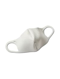 Solid Anti-Bacterial Fashion Face Mask - Heather Grey - Back