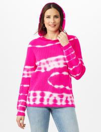 Tie Dye Hoodie Sweater - Back