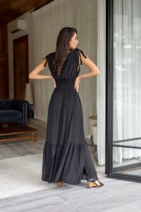 Phobe Dress - Black - Back