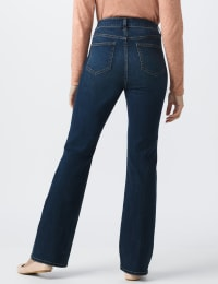 Westport Signature 5 Pocket Bootcut Jean - Dark Wash - Back