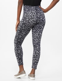 Elo Sportswear Animal Print Legging - Grey/Black Animal - Back