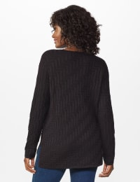 The Roz & Ali Everyday Pullover - Black - Back