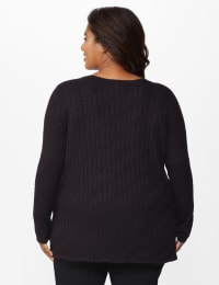 The Roz & Ali Everyday Pullover - Plus - Back