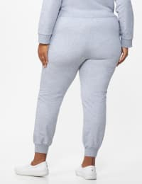 DB Sunday French Terry Jogger - Plus - Grey - Back