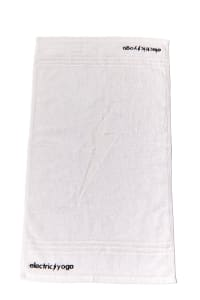 Sweat It Up Gym Towel - White - Back