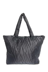 Karma Ultra Light Allover Bolt Bag - Black - Back