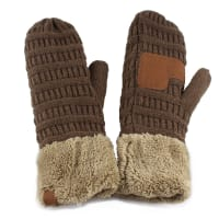 CC® Multi Color Mittens - New Olive / New Sage - Back