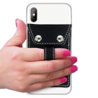 Phone Flipper Wallet - Black - Back