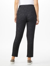 DB Sunday Hacci Jogger Pant - Misses - Black heather - Back