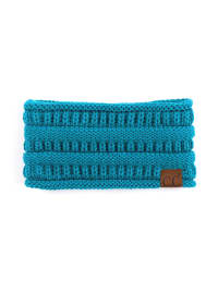 CC® Lined Pony Head Band - Teal - Back
