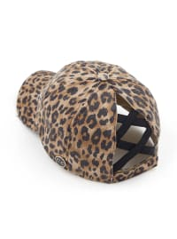 CC® Mask Compatible Criss Cross Cap - Baby Leopard - Back