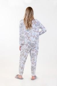 Spirit Jogger Pajama Set - Light Blue - Back