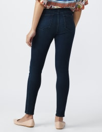 Tall Westport Signature High Rise Pull on Jegging - Rinse - Back