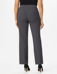 Roz & Ali Secret Agent Tummy Control Pants Cateye Rivets - Average Length - grey - Back