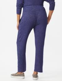 DB Sunday Hacci Drawstring Knit Pant - Navy - Back