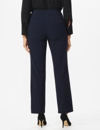 Roz & Ali Secret Agent Tummy Control Pants Cateye Rivets - Average Length - Back