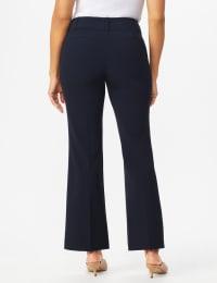 Roz & Ali  Secret Agent  Trouser With Cateye  Pocket  & Zipper - Navy - Back