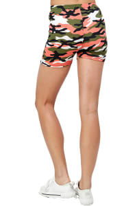 Printed Biker Shorts - Back