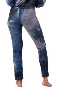 Tie Dye Cozy Knit Loungewear Set - Back