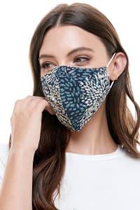 Reversible Face Mask Cloth Fabric Reusable Face Masks - Paint Stroke - Back
