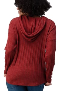 Hooded Sweater Top - Back