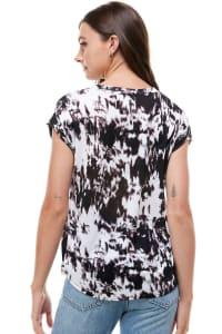Tie Dye T-shirt - Black - Back