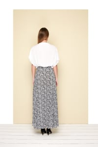 Bayron Skirt - Plus - Leo Black - Back