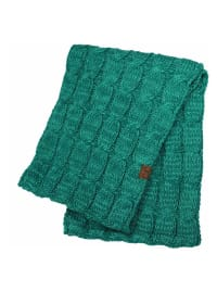 C.C® Two-Tone Multi Color Scarf - Turquoise - Back