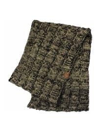 C.C® Two-Tone Multi Color Scarf - Beige / Black - Back