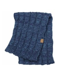 C.C® Two-Tone Multi Color Scarf - Navy - Back