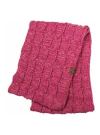 C.C® Two-Tone Multi Color Scarf - Punch - Back