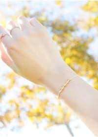 14K Gold Filled Scorpio Bracelet - Gold - Back